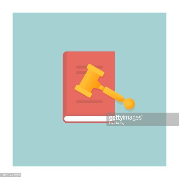 law book icon - human rights stock illustrations
