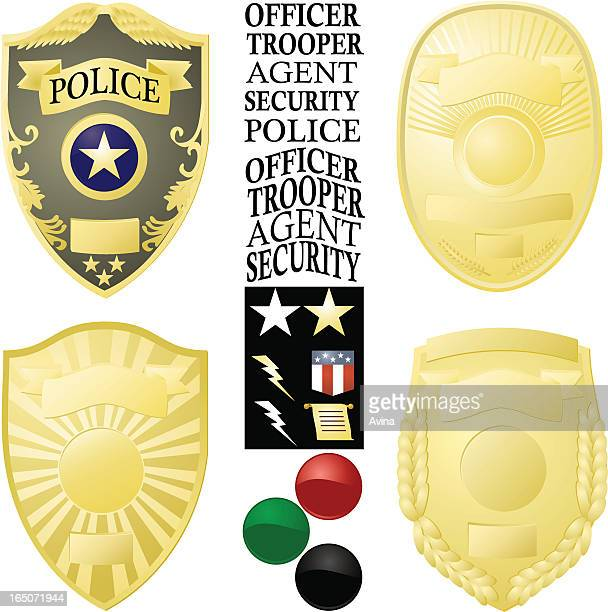 Law Enforcement Badge Vector Images
