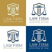 law firm logo Column