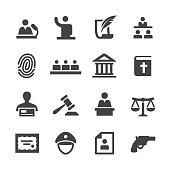 Law Icons Set - Acme Series