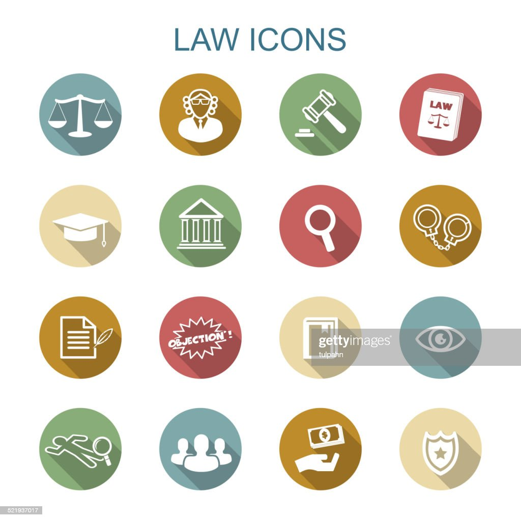 law long shadow icons