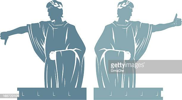 law of the emperor - emperor stock illustrations, clip art, cartoons, & icons