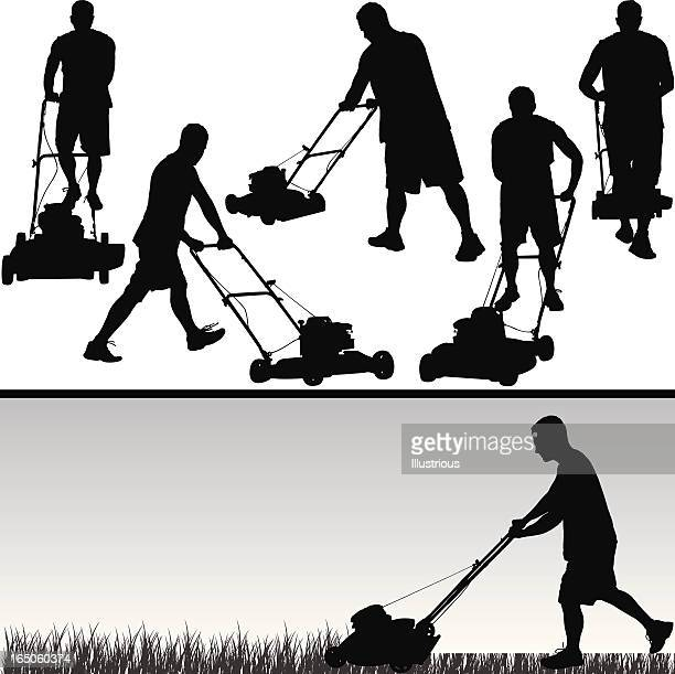 Lawn Care Silhouette Series