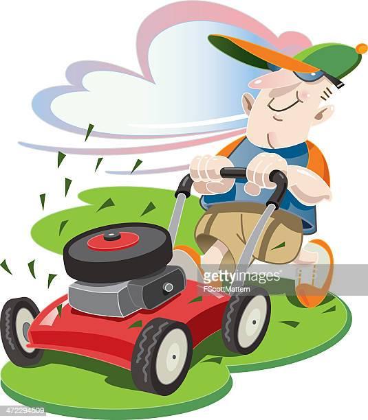 芝刈り機ギィ