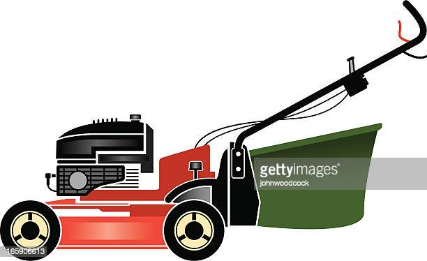 lawn mower - lawn mower stock illustrations
