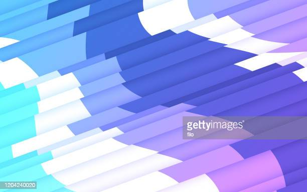 layered lines abstract background - the slants stock illustrations