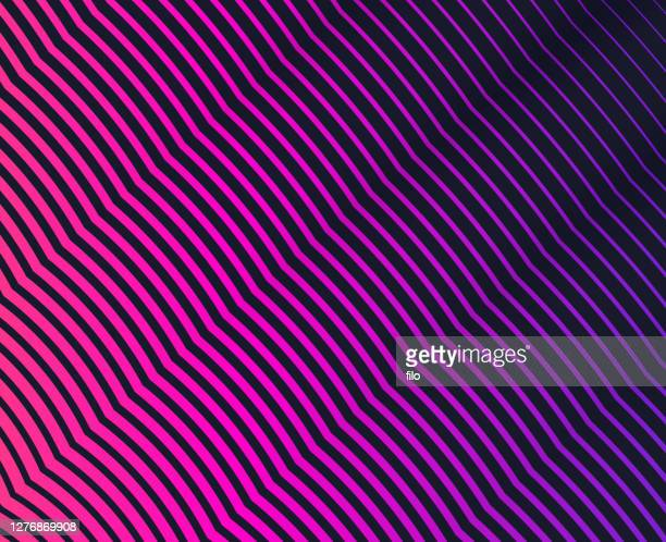layered waves abstract background - ribbed stock illustrations