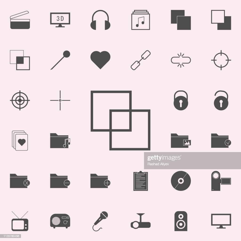 layers of documents icon. web icons universal set for web and mobile