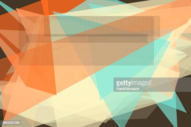Le Mans Vektor Polygon Design Pattern Horizontal