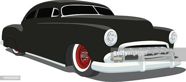 lead sled - low rider stock illustrations