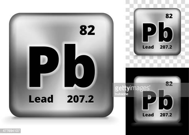 Lead Square Element Background Set