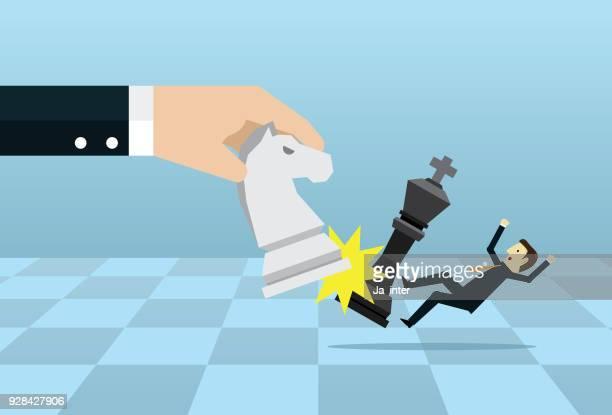 ilustraciones, imágenes clip art, dibujos animados e iconos de stock de desafíos del líder - tablero ajedrez