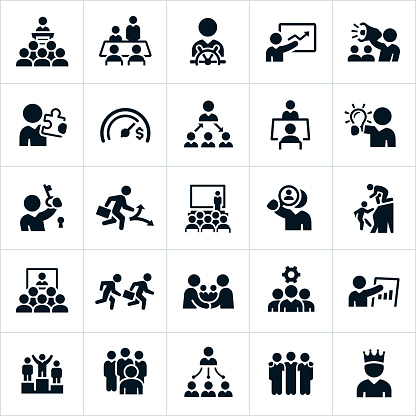 Leadership Icons - gettyimageskorea