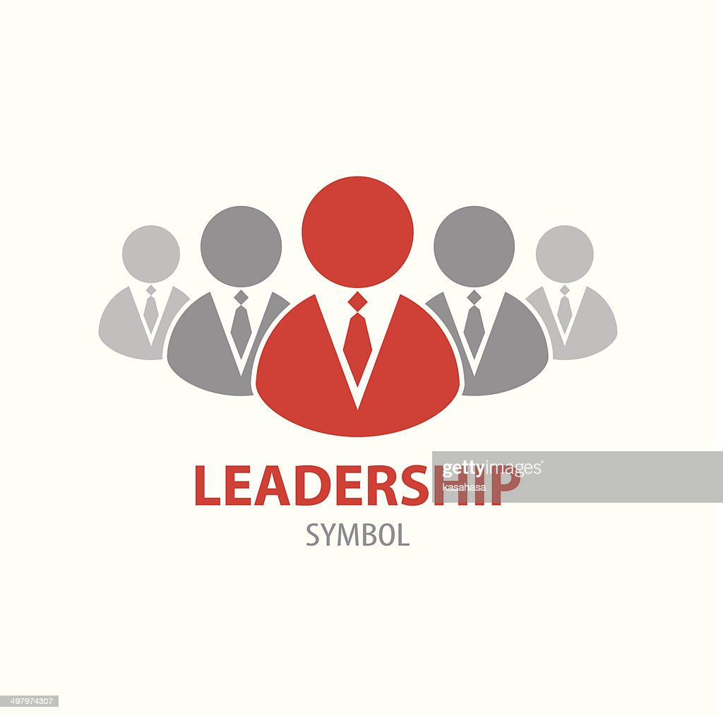 Leadership symbol icon