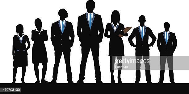 Leadership (chaque personne est détaillée et complète)