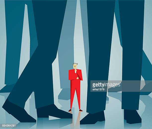 leadership - office politics stock illustrations, clip art, cartoons, & icons