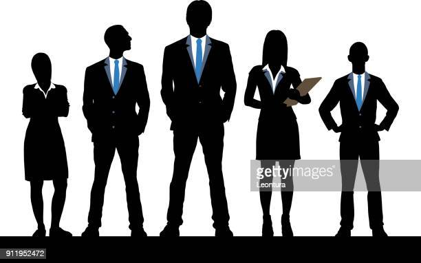 leadership - business person stock illustrations