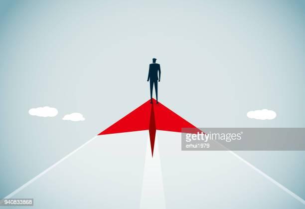 leadership - courage stock illustrations