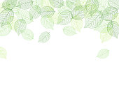 Leaf background material