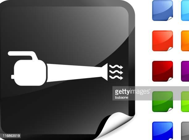 leaf blower internet royalty free vector art - leaf blower stock illustrations, clip art, cartoons, & icons