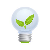Leaf Bulb - Novo Icons.