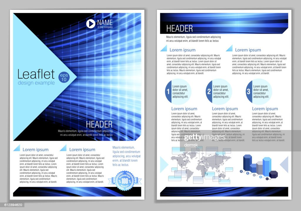 example of leaflet design