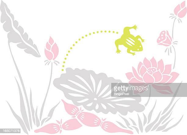Leap Frog & Lotus