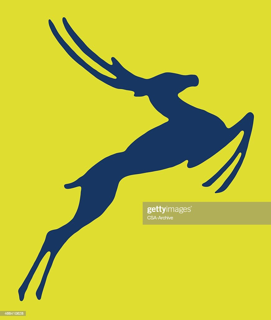 Leaping Gazelle
