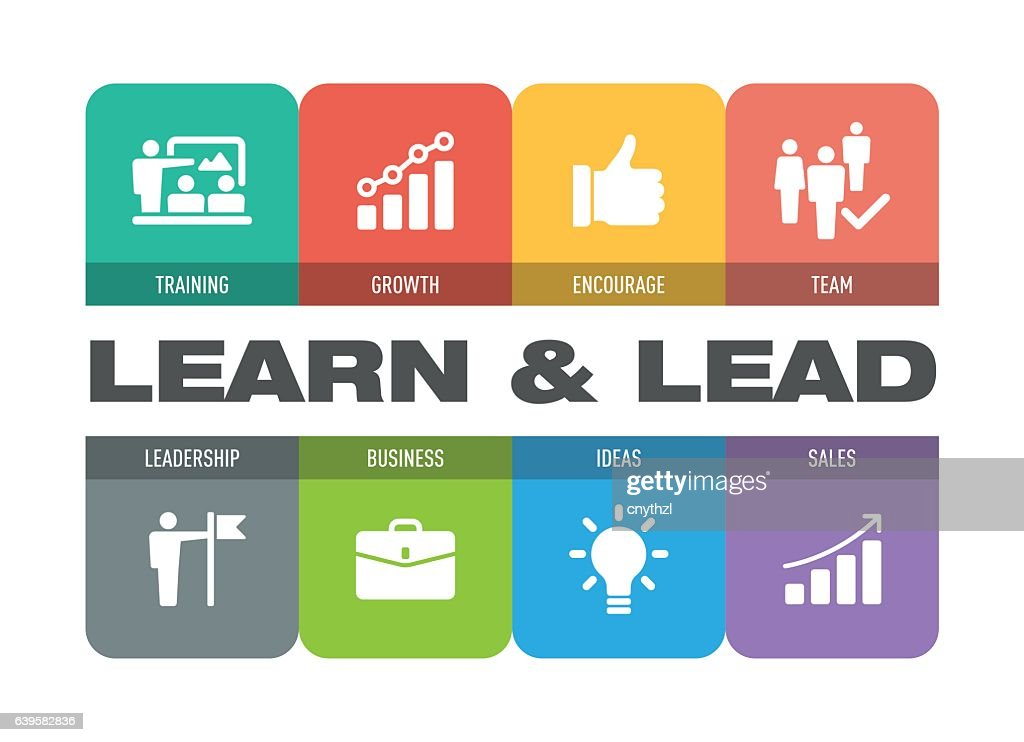 Learn and Lead Icon Set