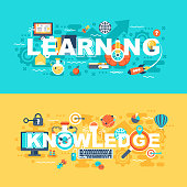 Learning and knowledge set of flat concept