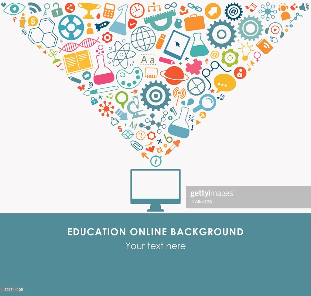E Learning Icon Set