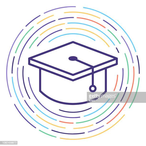 Learning Standards Line Icon Illustration