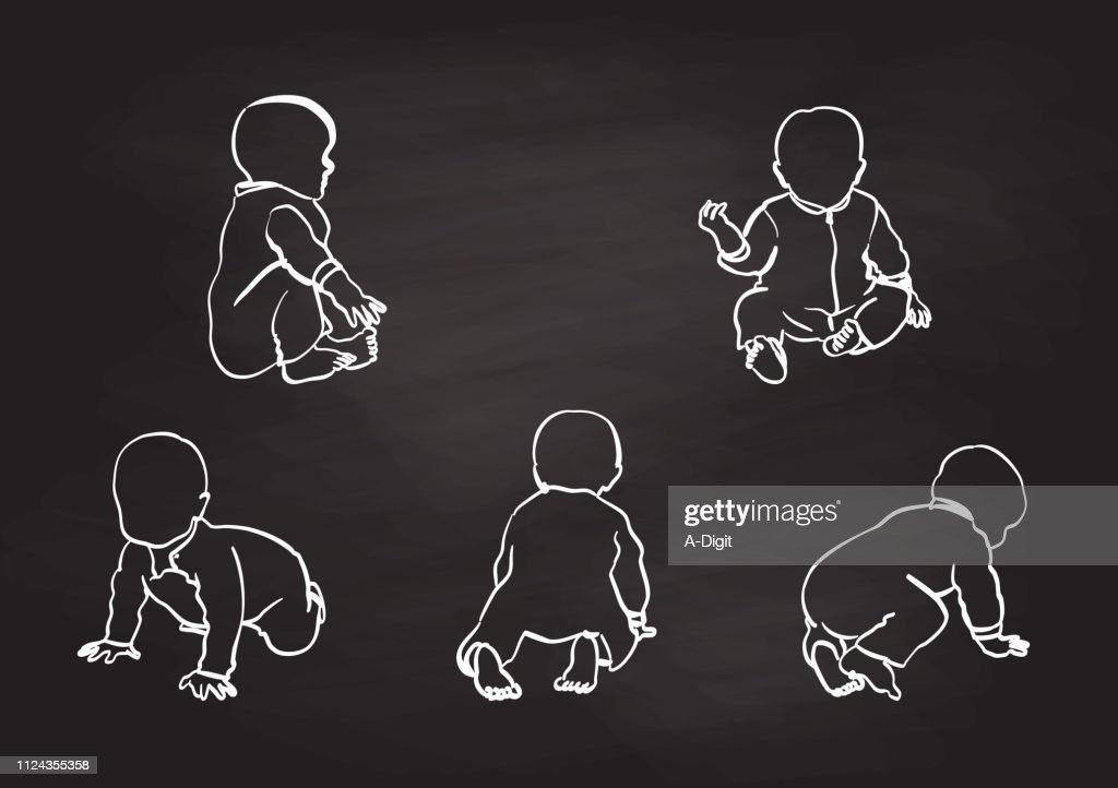 Learning To Crawl Baby Boy