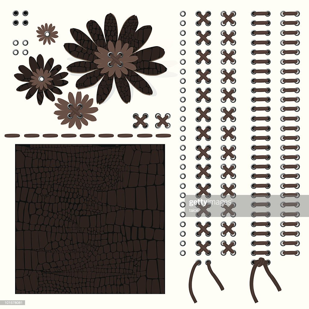 Leather-Design Elements