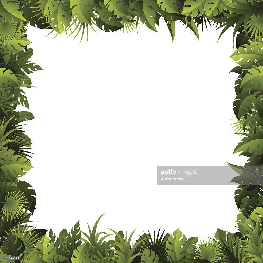 Leaves Frame : stock illustration