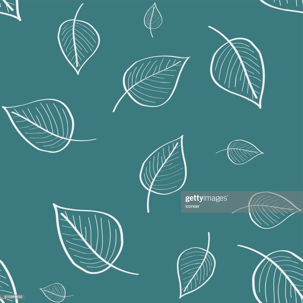 Amazing Wallpaper Dark Teal - leaves-teal-dark-doodle-wallpaper-seamless-pattern-retro-design-vector-id670364530  Best Photo Reference_894020 .com/vectors/leaves-teal-dark-doodle-wallpaper-seamless-pattern-retro-design-vector-id670364530