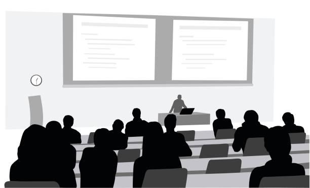 授業ルーム - 講義室点のイラスト素材/クリップアート素材/マンガ素材/アイコン素材