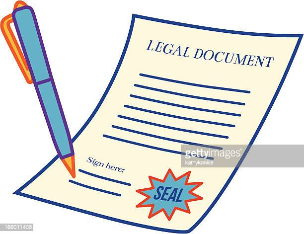 legal document - legal document stock illustrations, clip art, cartoons, & icons