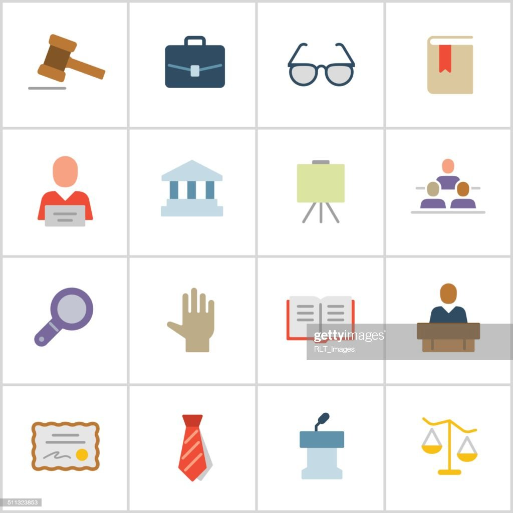 Legal Icons — Poly Series