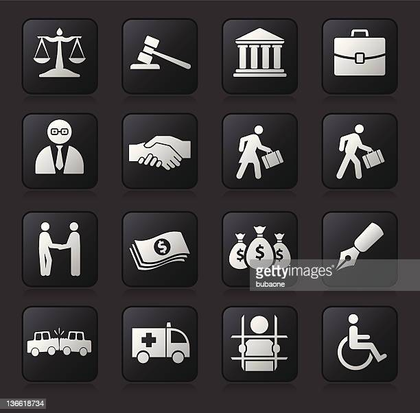 Rechtliche auf dunklem Hintergrund
