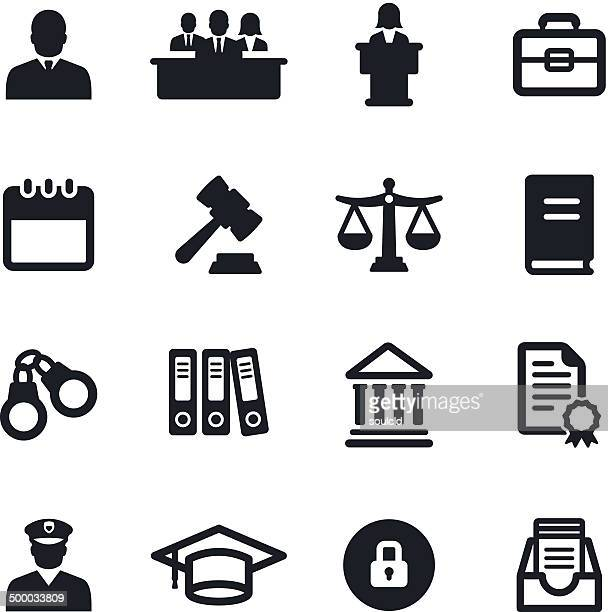 ilustrações de stock, clip art, desenhos animados e ícones de sistema legal ícones - crime or recreational drug or prison or legal trial