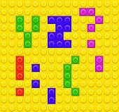 Lego Blocks alphabet 5