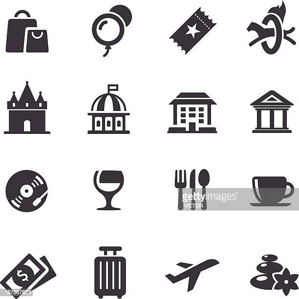 Leisure and Travel Icons - Acme Series