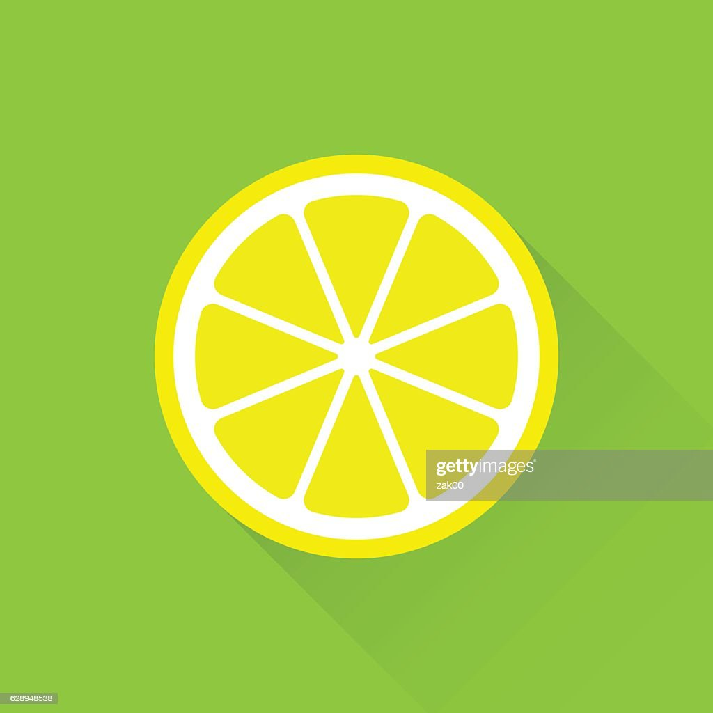 Lemon flat icon