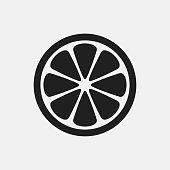 Lemon icon illustration