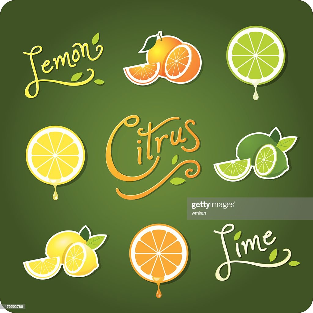 Lemon, Lime and Citrus fruit