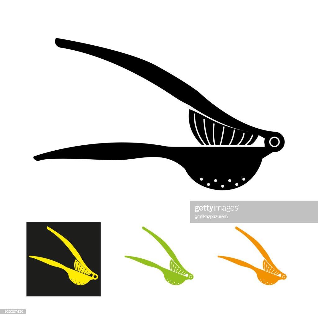 lemon Squeezer Icon - vector illustration.