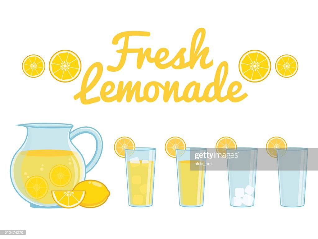 Lemonade isolated