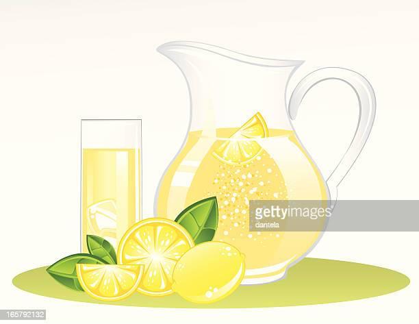 lemonade - jug stock illustrations, clip art, cartoons, & icons
