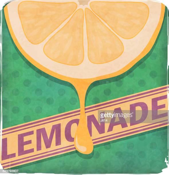 lemonade - lemon soda stock illustrations